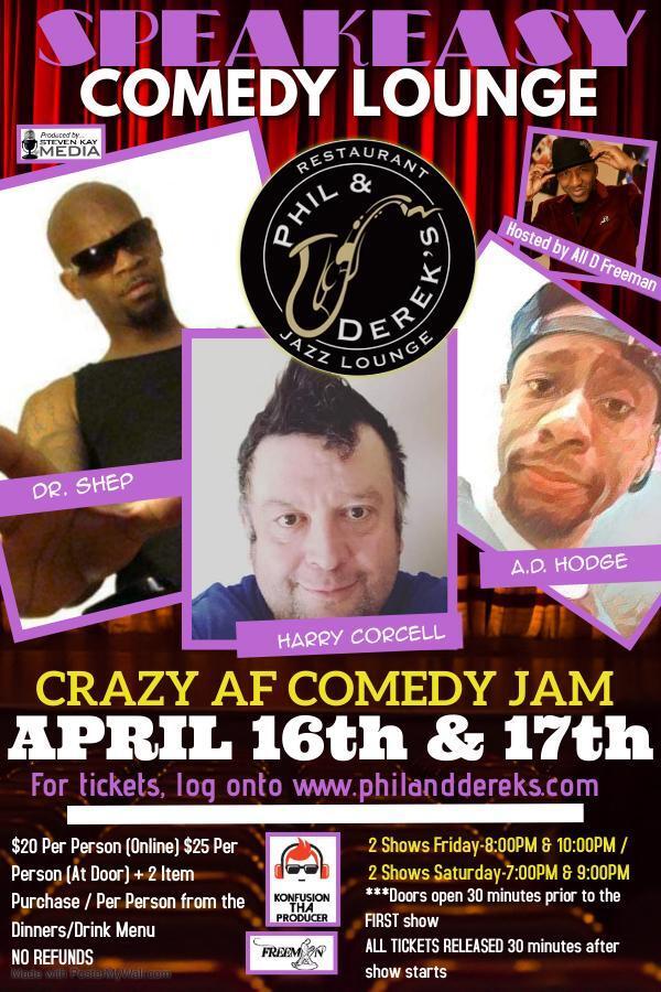 New Show: April 16th & 17th, 2021