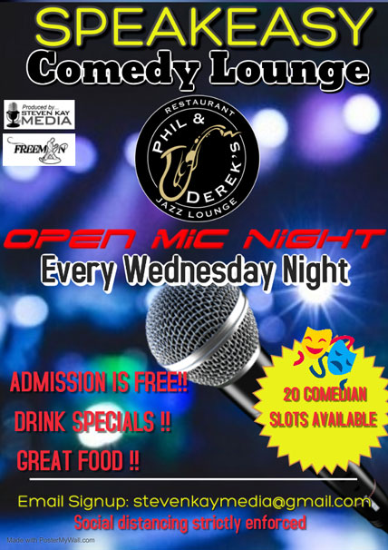 Open Mic Night Comedy Show